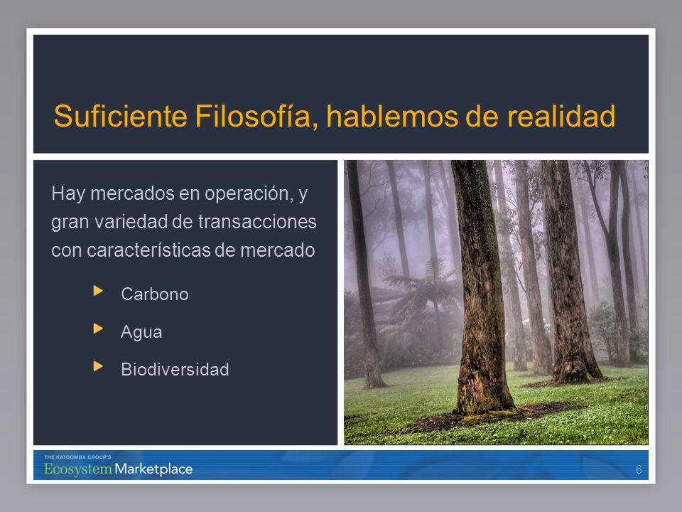 17 Offsets de Biodiversidad Voluntarios Empresas (eg.