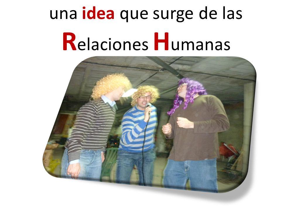 una idea que surge de las R elaciones H umanas