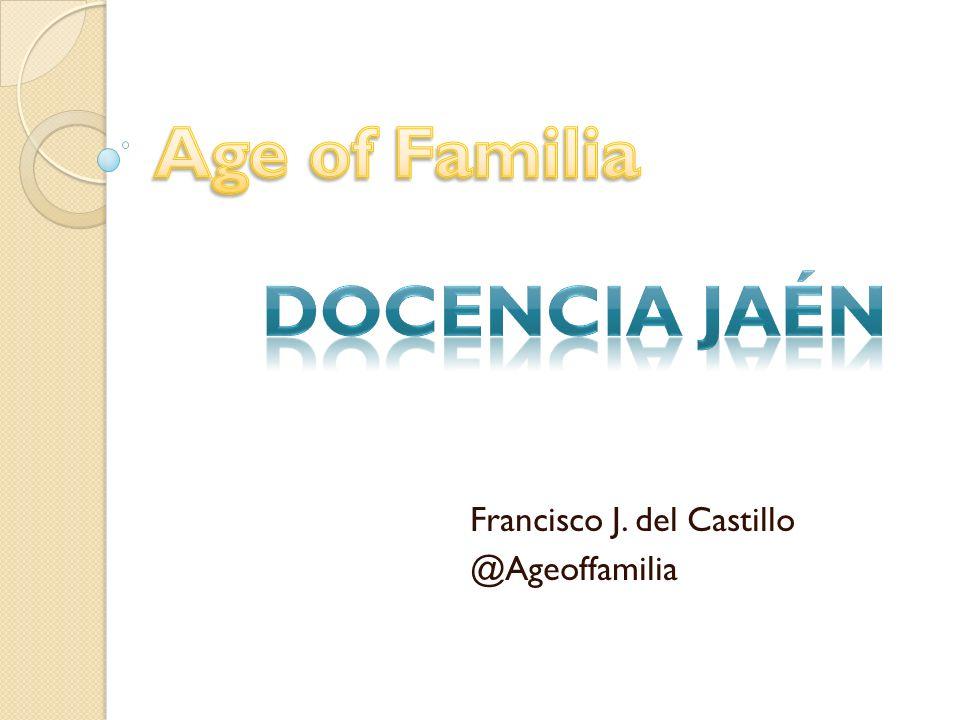 Francisco J. del Castillo @Ageoffamilia