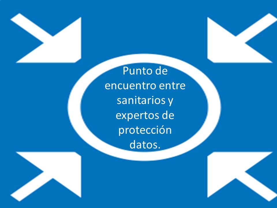 Punto de encuentro entre sanitarios y expertos de protección datos.