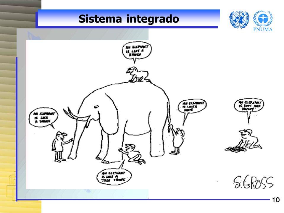 10 Sistema integrado