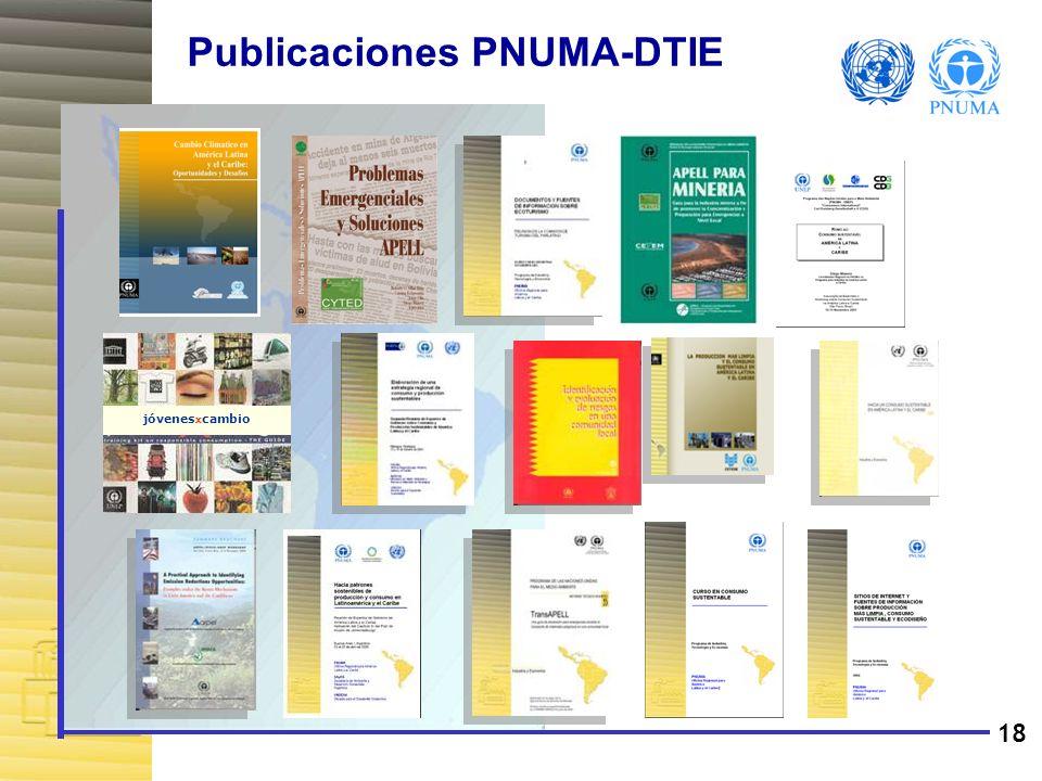 19 Programa de las Naciones Unidas para el Medio Ambiente Oficina Regional para América Latina y el Caribe Blvd.