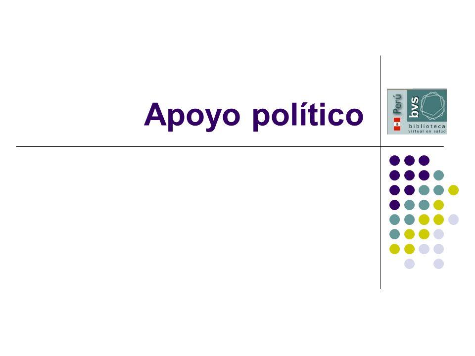 Apoyo político