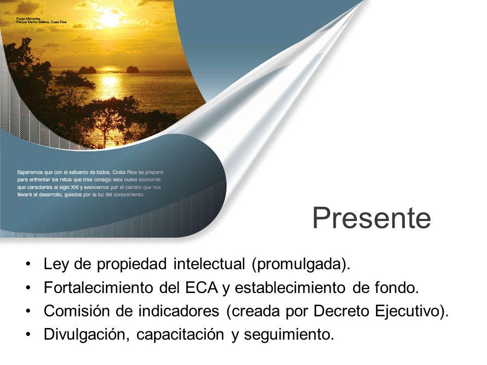 Presente Ley de propiedad intelectual (promulgada).