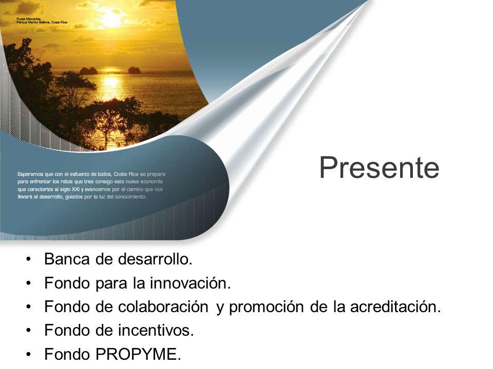 Presente Banca de desarrollo. Fondo para la innovación.