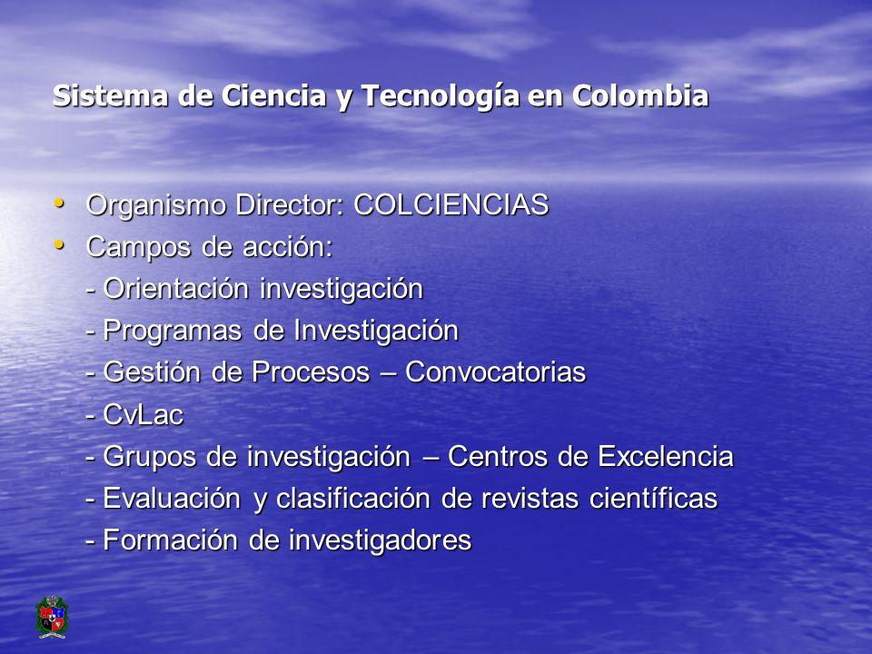 Las Revistas Científicas en Colombia: El reto del financiamiento Carlos A.
