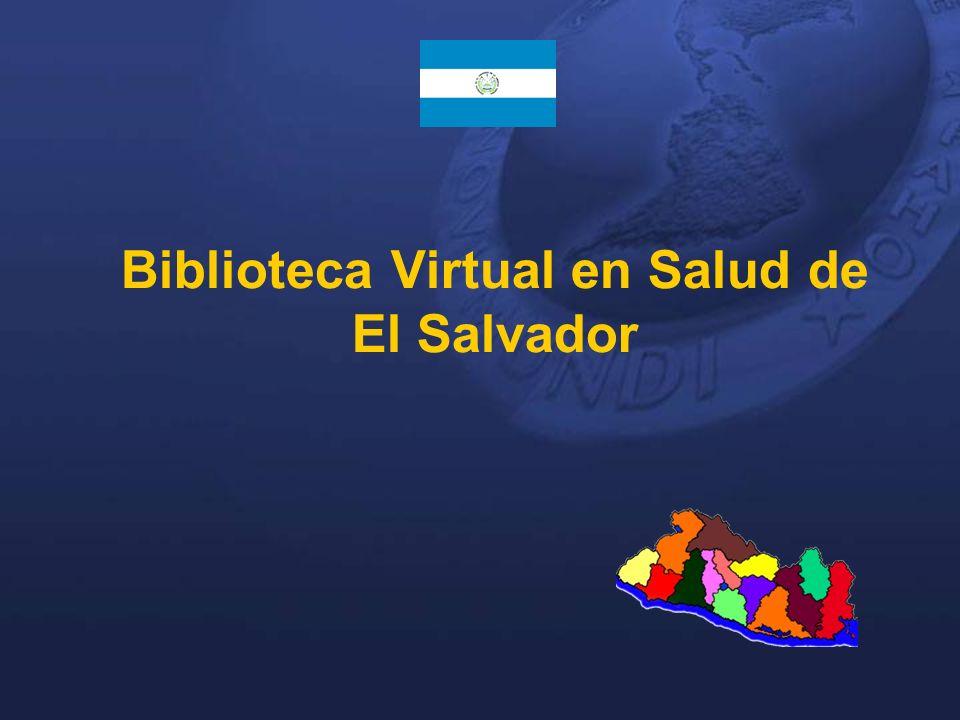 Biblioteca Virtual en Salud de El Salvador