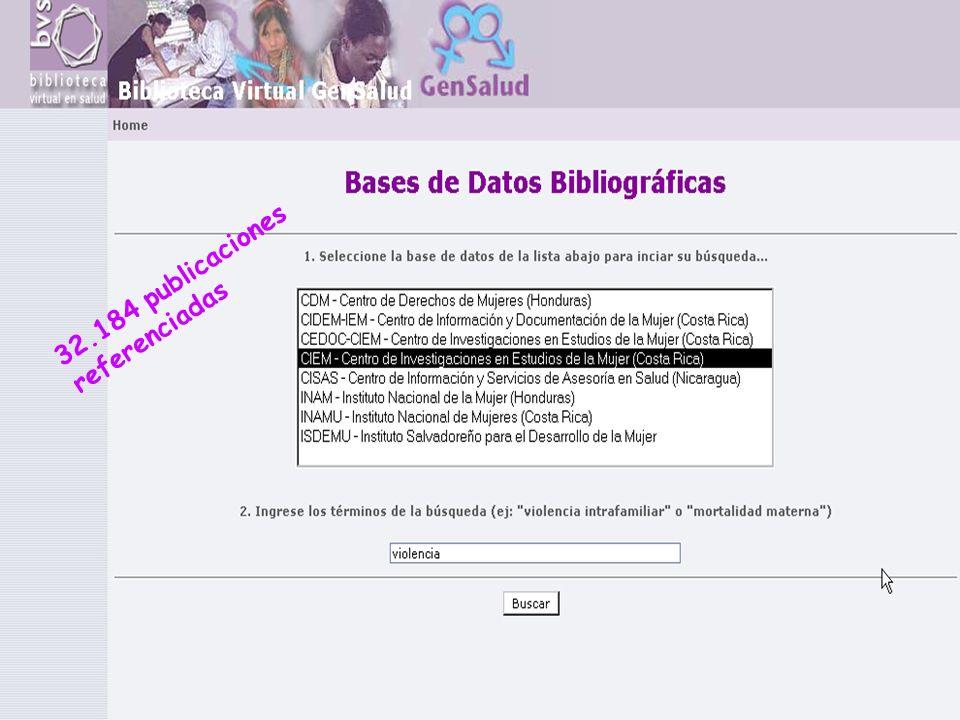 32.184 publicaciones referenciadas