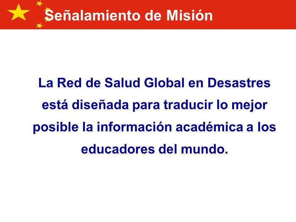 ¡ Conciencia del riesgo y desarrollo del conocimiento incluyendo educación, entrenamiento, investigación e información son los campos de acción importantes para la reducción de riesgos de desastres.