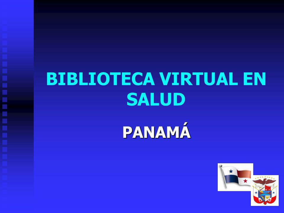 BIBLIOTECA VIRTUAL EN SALUD PANAMÁ