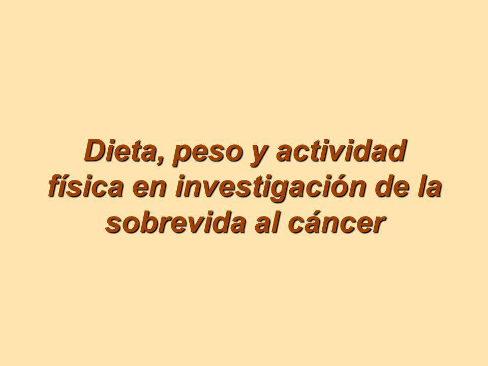 La ausencia relativa de conocimiento que existe actualmente acerca de los resultados de la salud física y la calidad de vida de sobrevivientes del cáncer representa una clara área de reto.