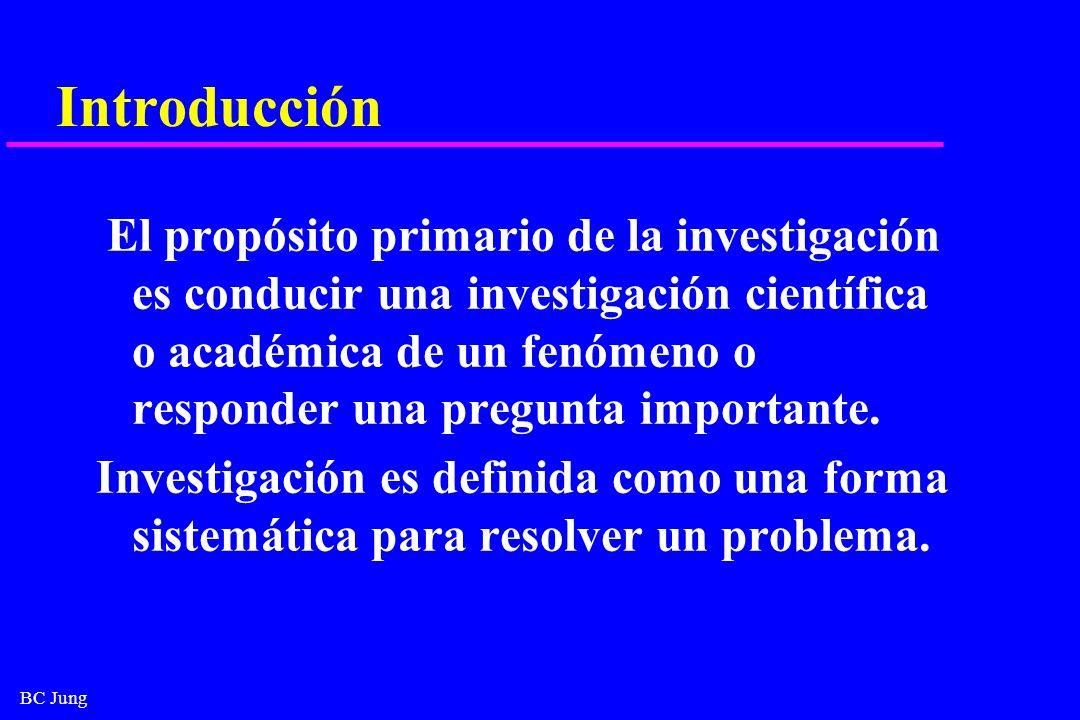BC Jung Jerarquía de la evidencia 1.Revisión sistemática y meta-análisis 2.