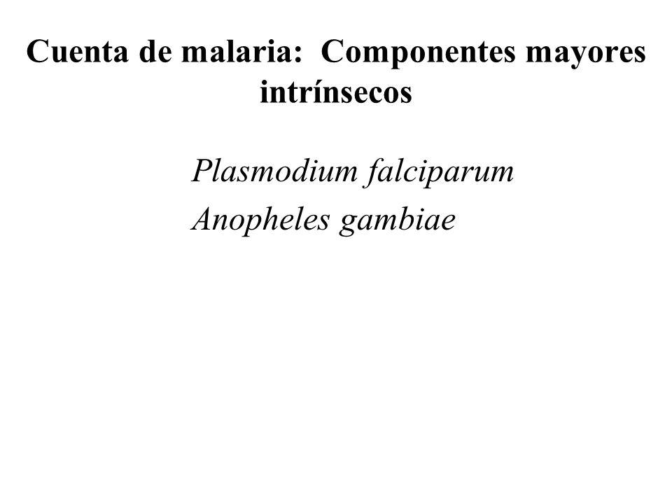Ecología y carga de la malaria Manifestaciones clínicas Mosquito infectado Humano infectado Efectos crónicos Anemia Neurológico /cognitivo Desarrollo Crecimiento y desarrollo dañado Desnutrición Enf.