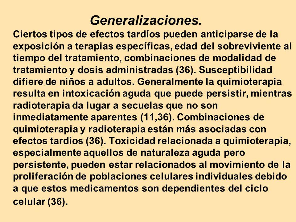Generalizaciones.