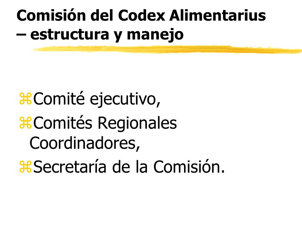 El Comité ejecutivo z Director, z3 Vice-Directores, z7 Representantes regionales, z6 Coordinadores regionales.
