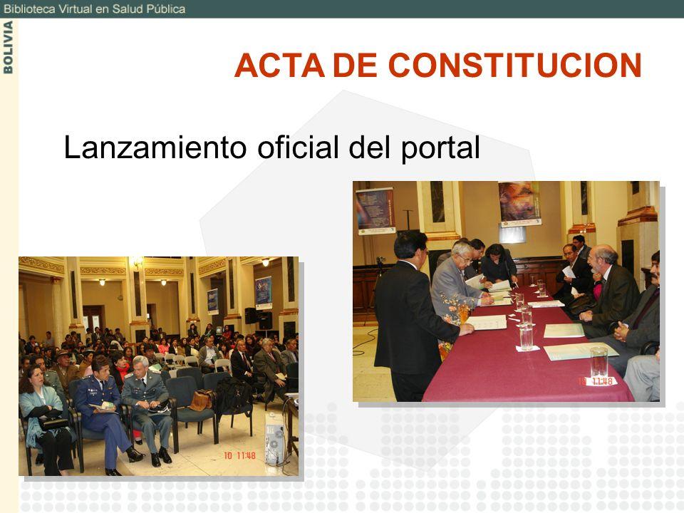 Para promover una participación más amplia y diversa de instituciones bolivianas y proporcionar información especializada se ha desarrollado un conjunto de bibliotecas temáticas especializadas: Salud Ambiental Enfermería Desastres BIBLIOTECAS TEMATICAS