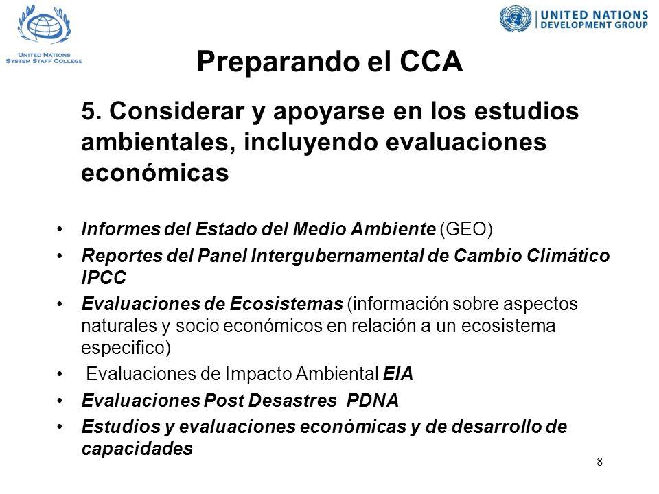 8 Preparando el CCA 5.