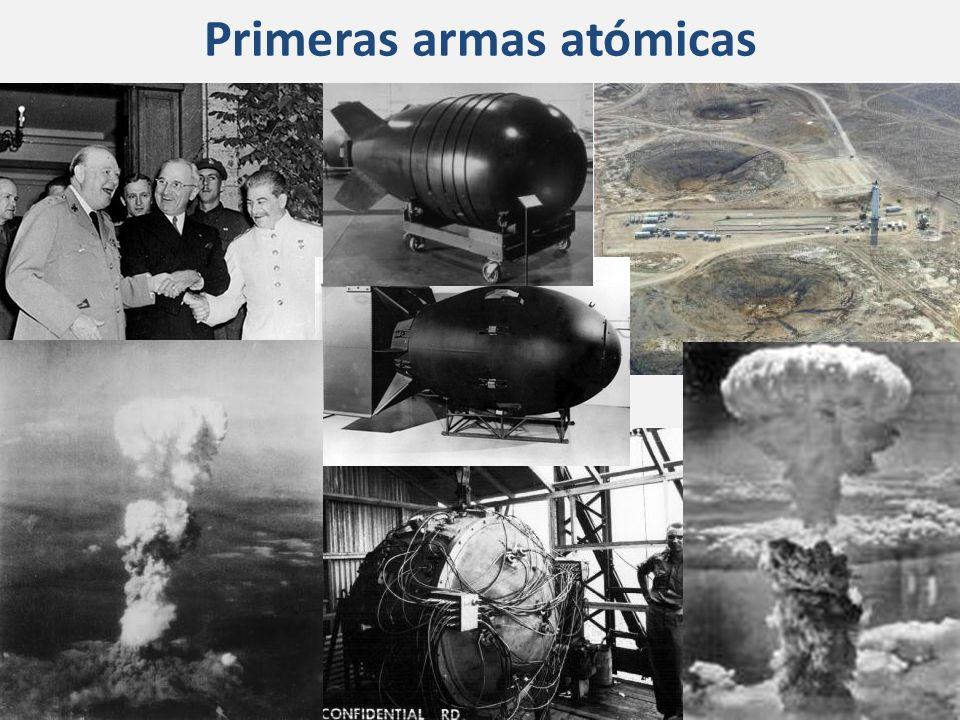 Primeras armas atómicas