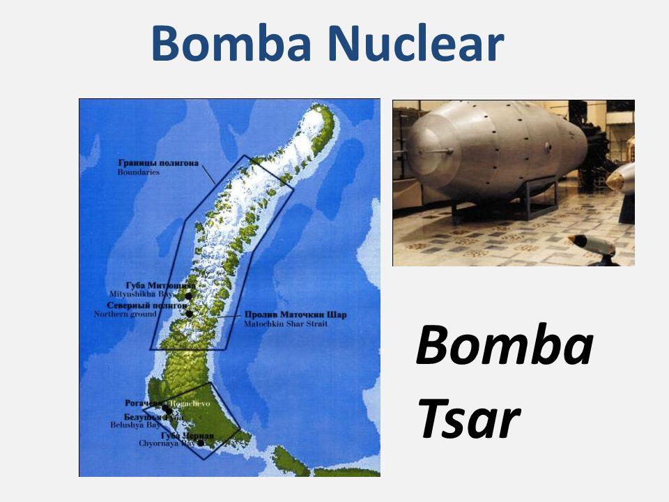 Bomba Nuclear Bomba Tsar