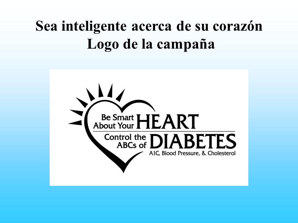 Sea inteligente acerca de su corazón Logo de la campaña Insert Be Smart campaign logo