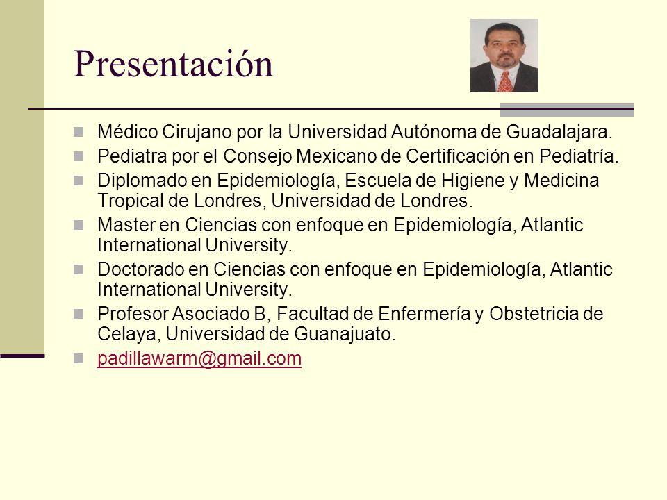 Presentación Médico Cirujano por la Universidad Autónoma de Guadalajara. Pediatra por el Consejo Mexicano de Certificación en Pediatría. Diplomado en