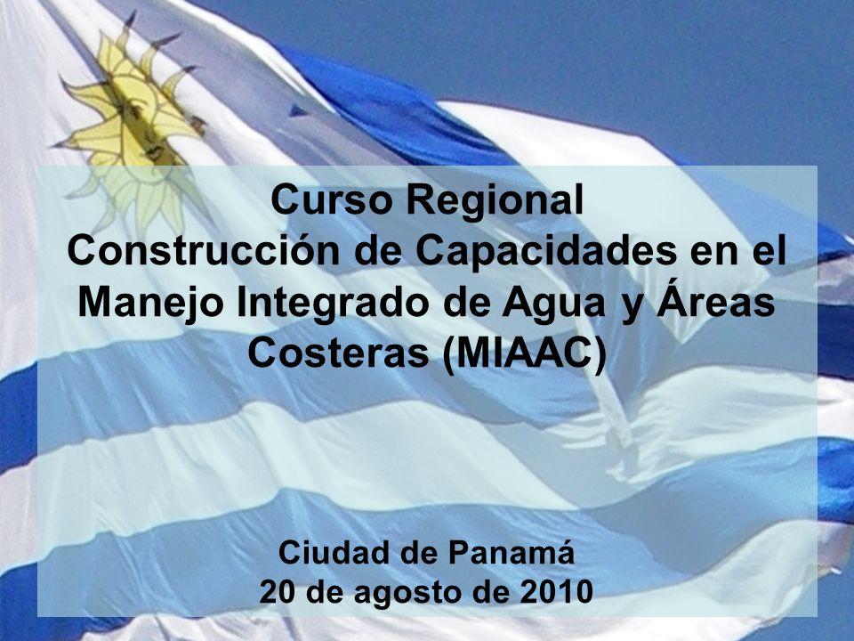 Curso Regional Construcción de Capacidades en el Manejo Integrado de Agua y Áreas Costeras (MIAAC) Ciudad de Panamá 20 de agosto de 2010