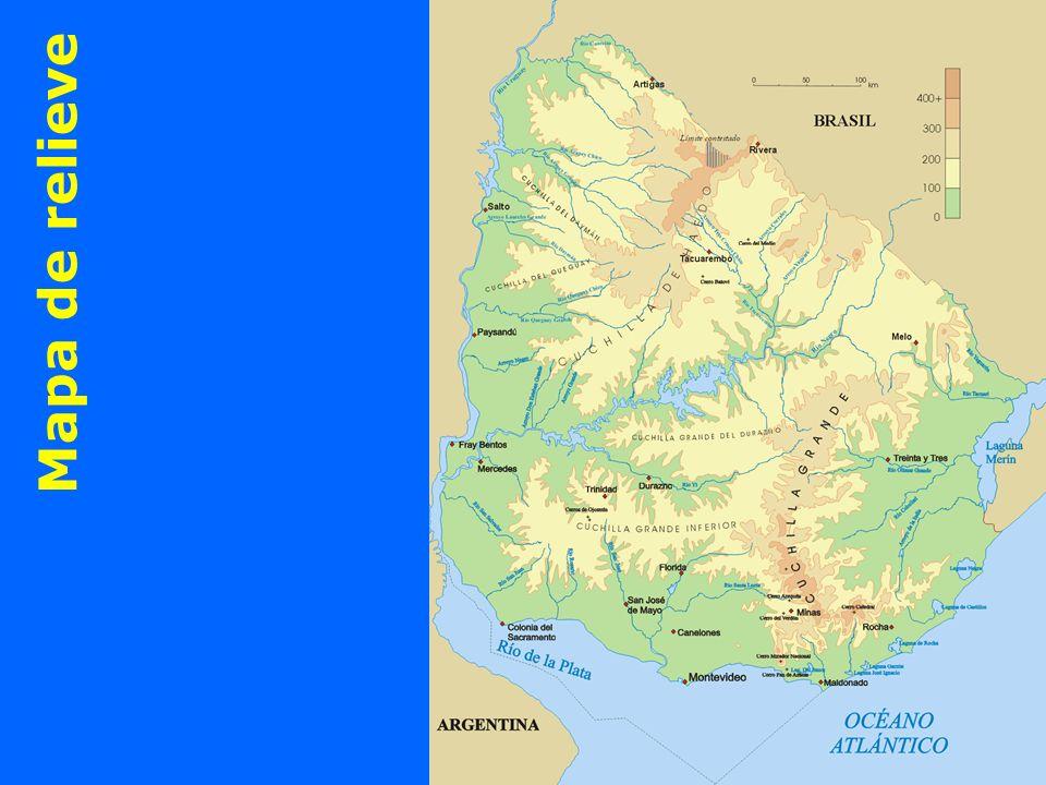 Mapa de relieve