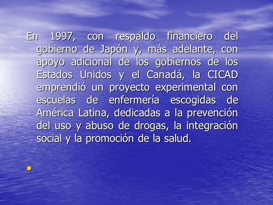 En 1997, con respaldo financiero del gobierno de Japón y, más adelante, con apoyo adicional de los gobiernos de los Estados Unidos y el Canadá, la CIC