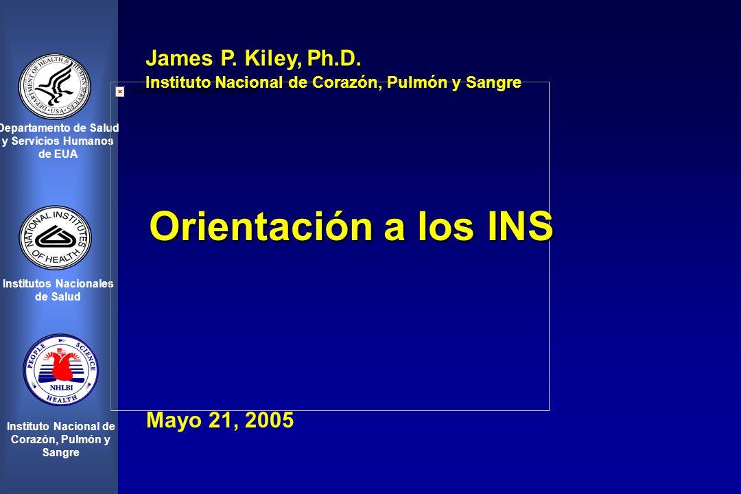 Departamento de Salud y Servicios Humanos de EUA Institutos Nacionales de Salud Instituto Nacional de Corazón, Pulmón y Sangre James P.