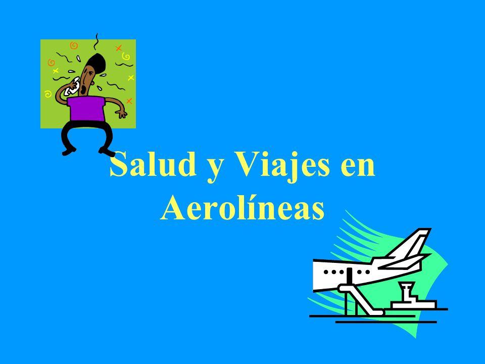 Salud y Viajes en Aerolíneas