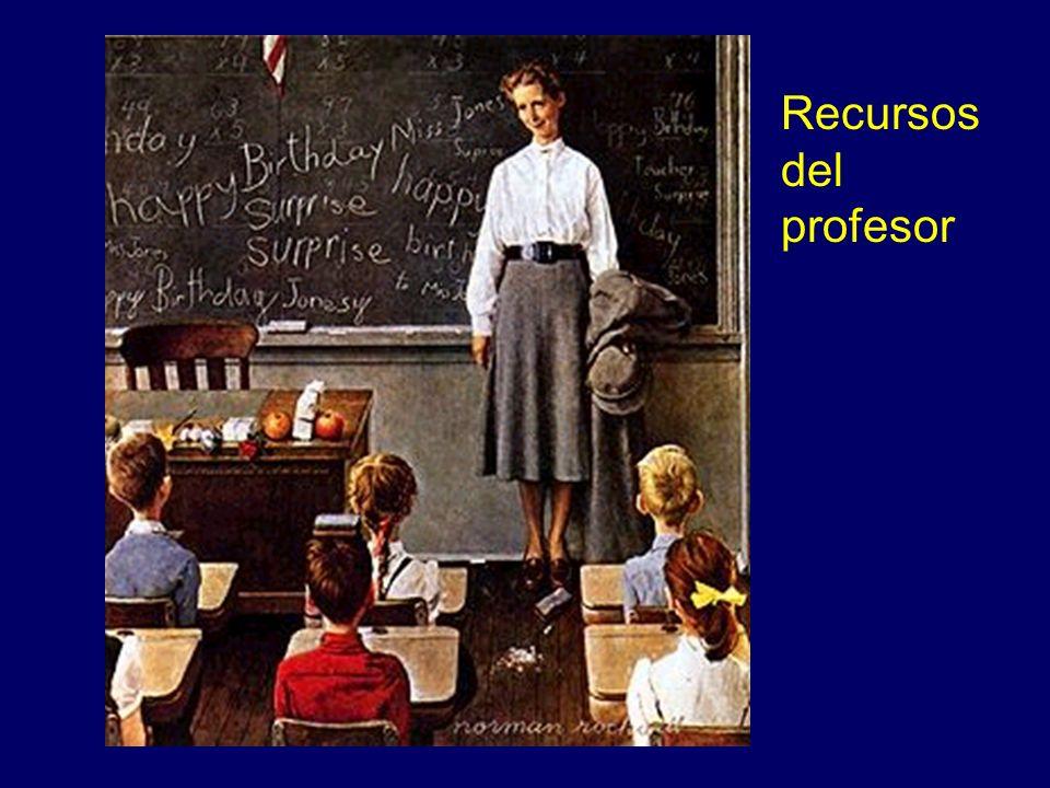 Recursos del profesor