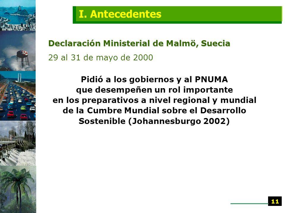 XII Foro de Ministros de Medio Ambiente de América Latina y el Caribe Bridgetown, Barbados 2 al 7 de marzo de 2000 Decisión 17 colaborar, junto con el