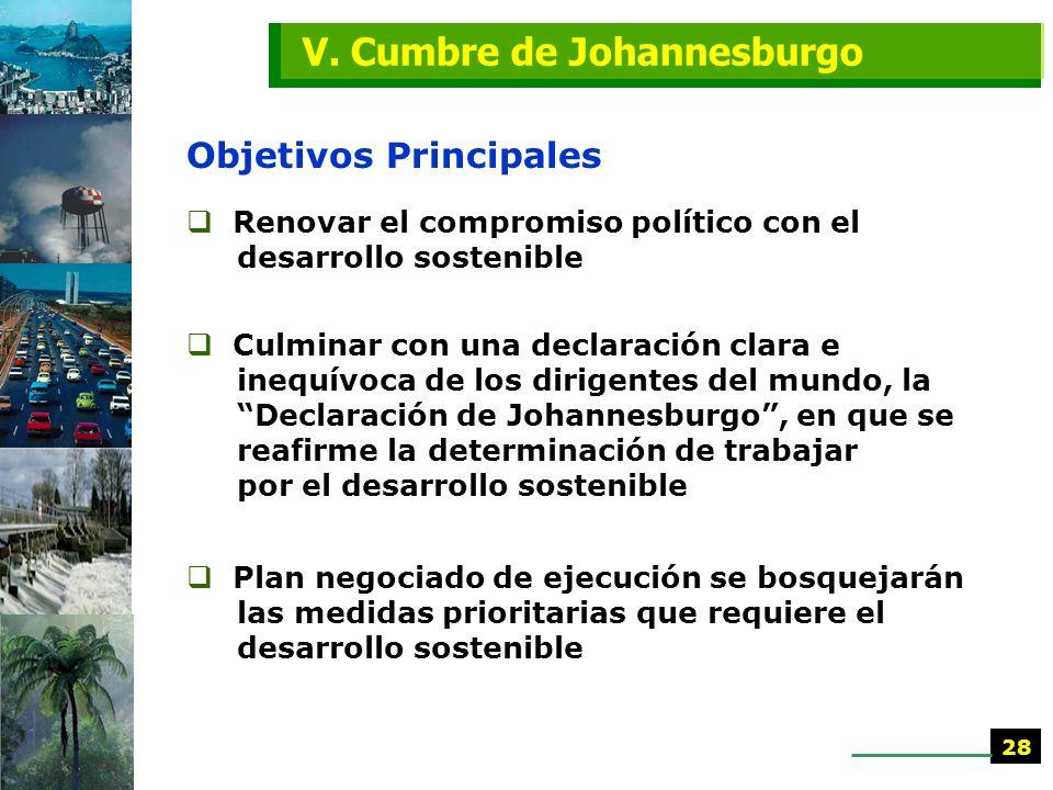 ¿Primero el mercado o la sostenibilidad? IV. PREPCOMs 27