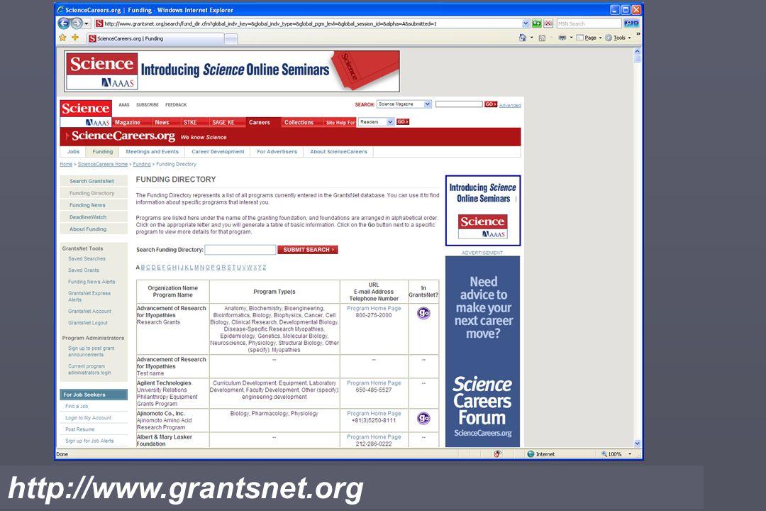 http://www.grantsnet.org