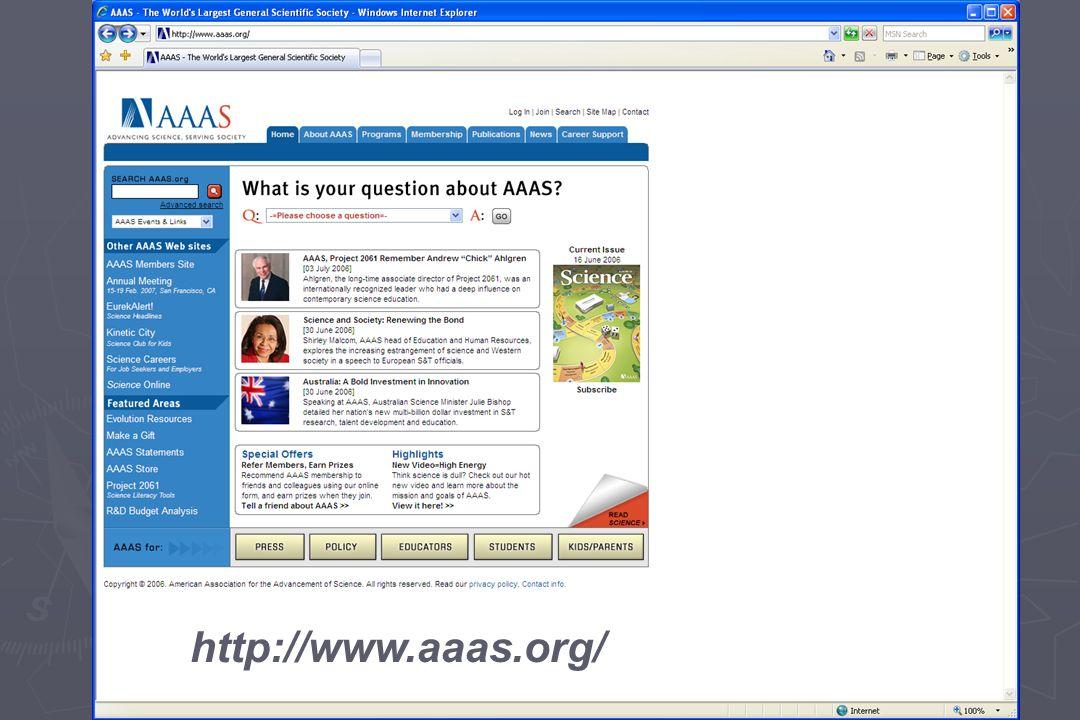 http://www.aaas.org/