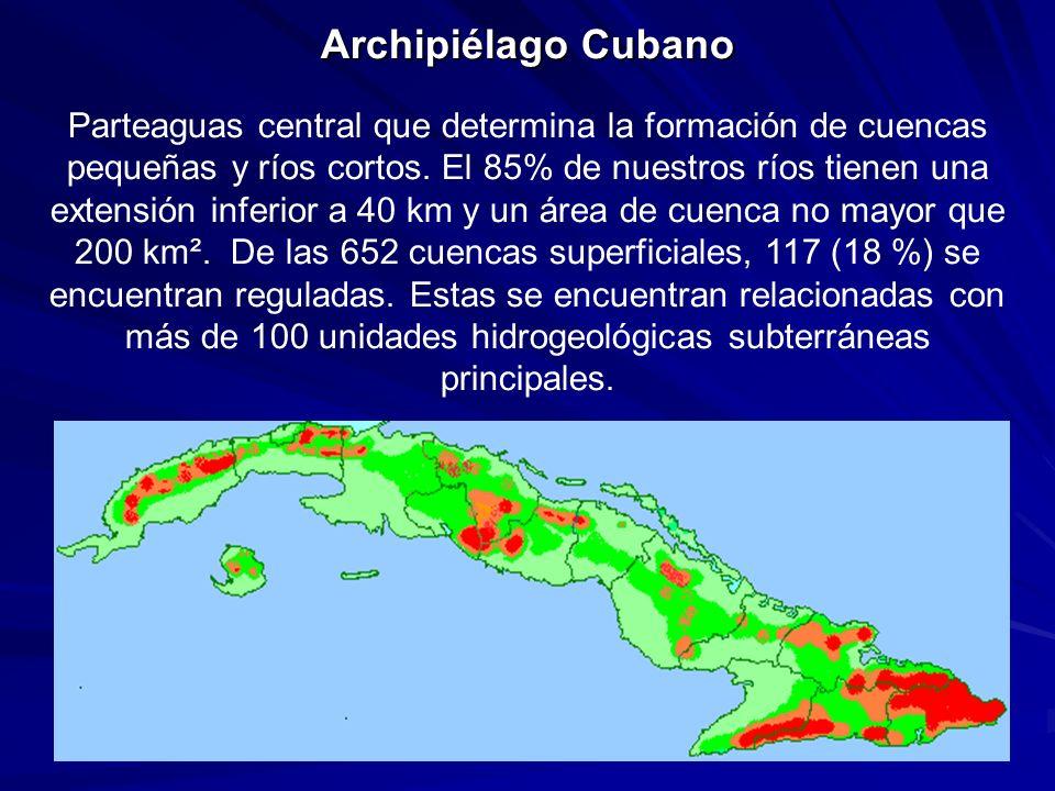 Recursos Hídricos e Hidráulicos Recursos Hídricos Potenciales Aprovechables Recursos Hidráulicos Disponibles TOTAL 38 100 millones m 3 TOTAL 24 000 millones m 3 TOTAL 13 650 millones m 3 Superficiales 31 700 millones m 3 Superficiales 75 % Superficiales 9 150 millones m 3 Subterráneos 25 % Subterráneos 6 400 millones m3 Subterráneos 4 490 millones m3