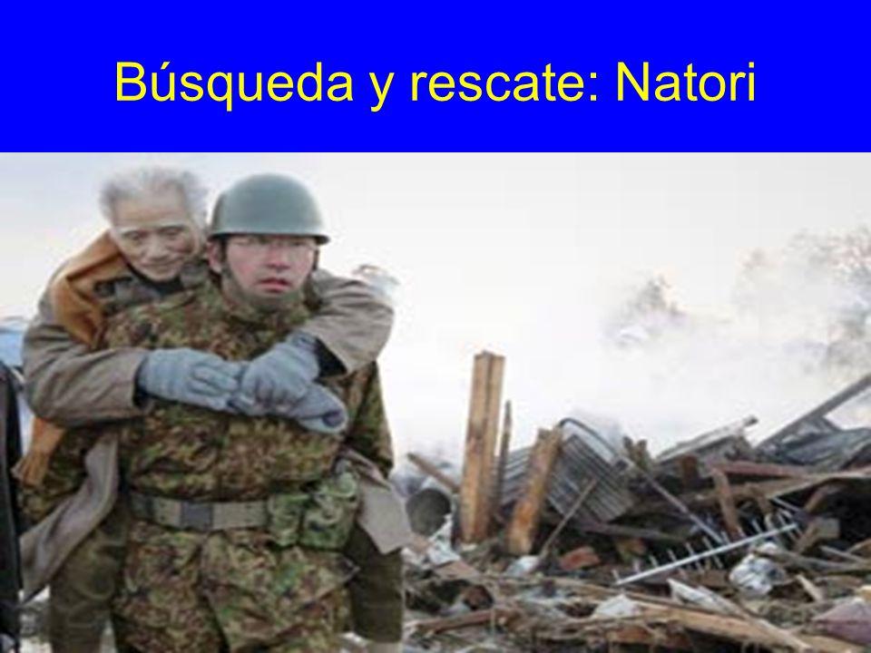 Búsqueda y rescate: Natori
