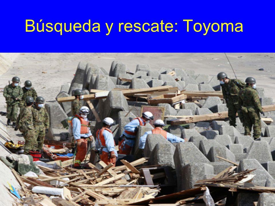 Búsqueda y rescate: Toyoma