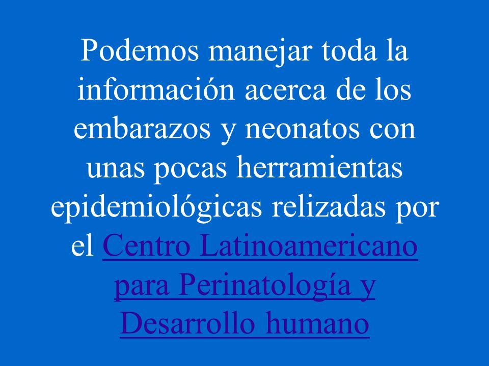 Estadísticas básicas en epidemiología perinatal II. Analizando los datos