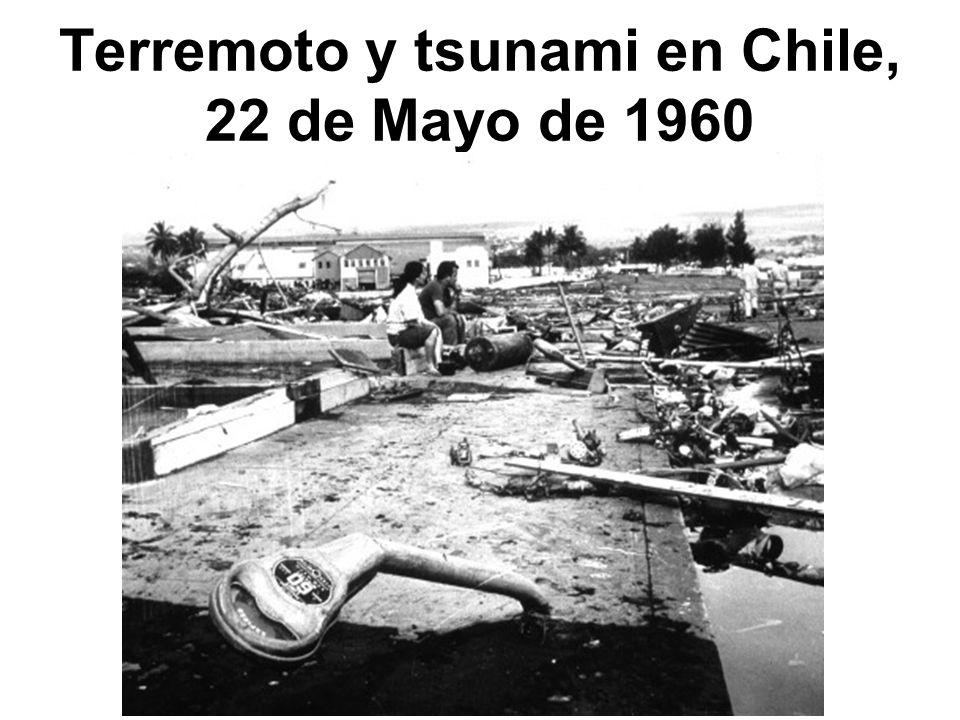 Terremoto y tsunami en Chile, 22 de Mayo de 1960