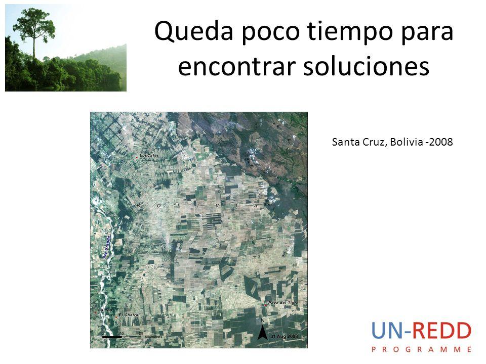 Queda poco tiempo para encontrar soluciones Santa Cruz, Bolivia -2008