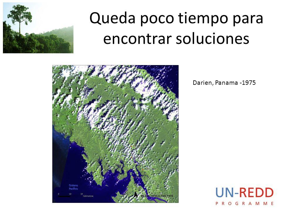 Queda poco tiempo para encontrar soluciones Darien, Panama -1975