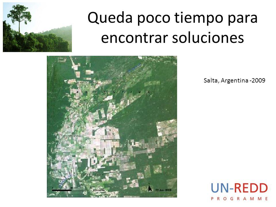 Queda poco tiempo para encontrar soluciones Salta, Argentina -2009