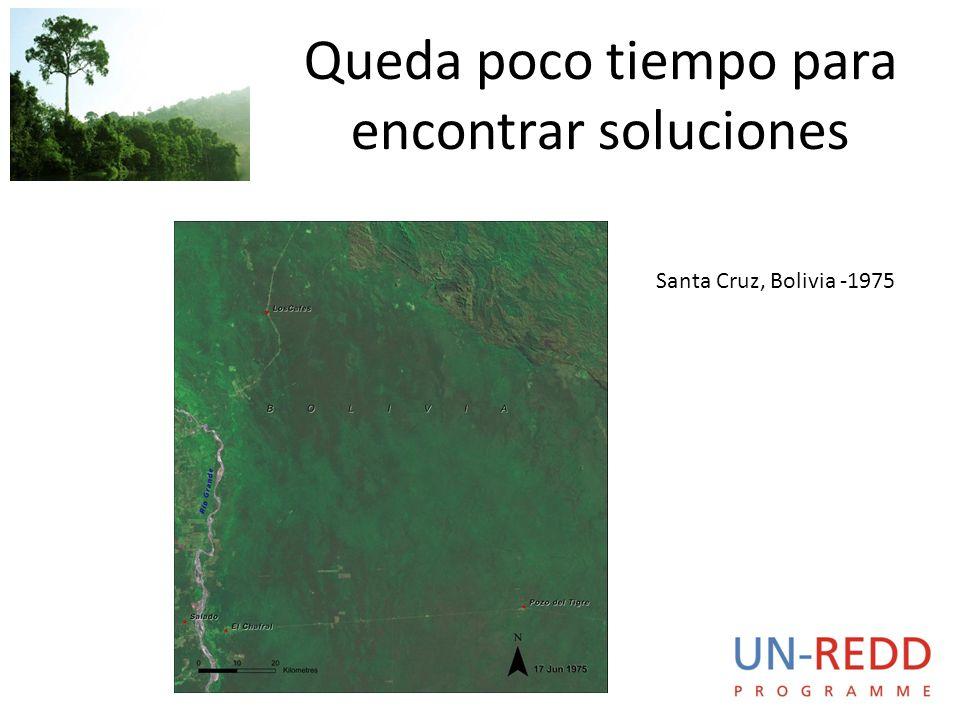 Queda poco tiempo para encontrar soluciones Santa Cruz, Bolivia -1975