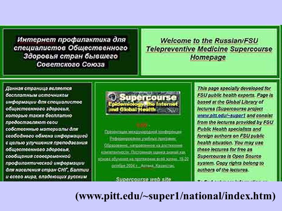(www.pitt.edu/~super1/national/index.htm)