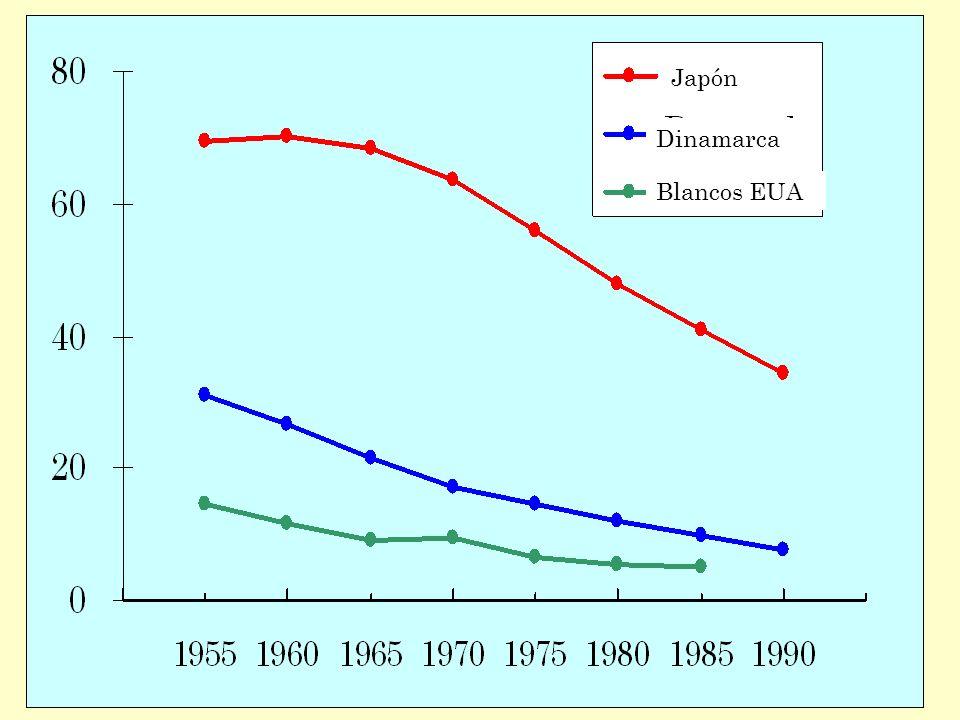 Japón Dinamarca Blancos EUA