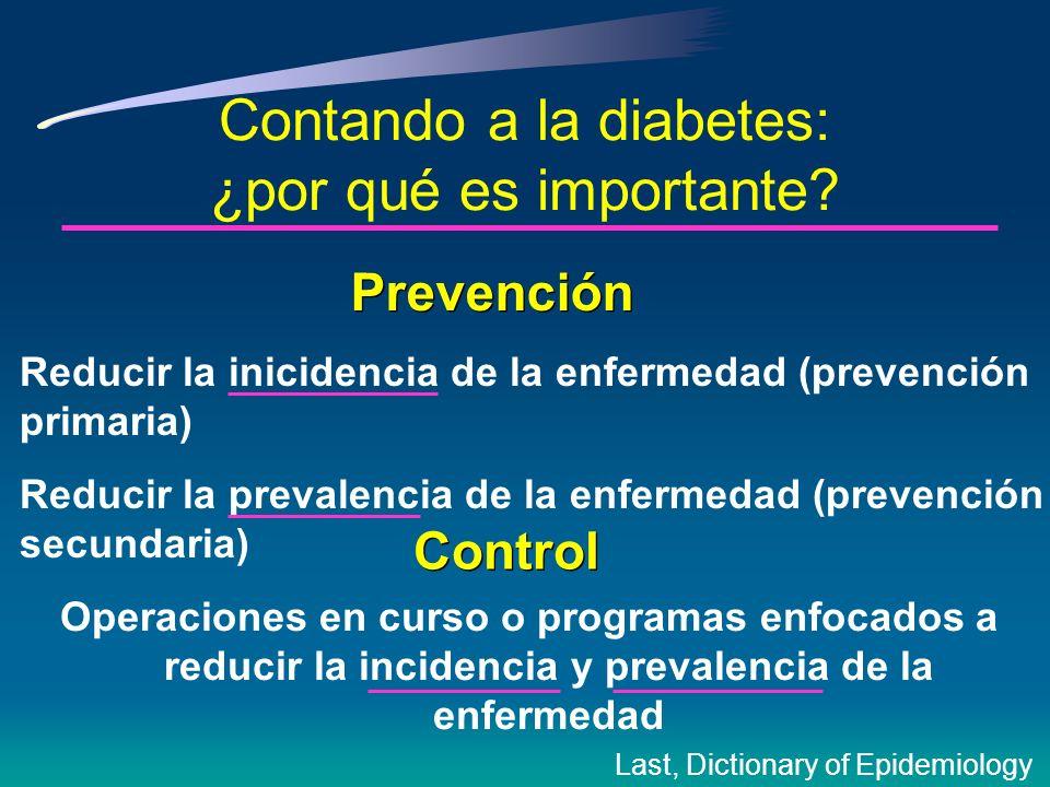 La necesidad de contar la enfermedad, especialmente diabetes, inició hace mucho tiempo …