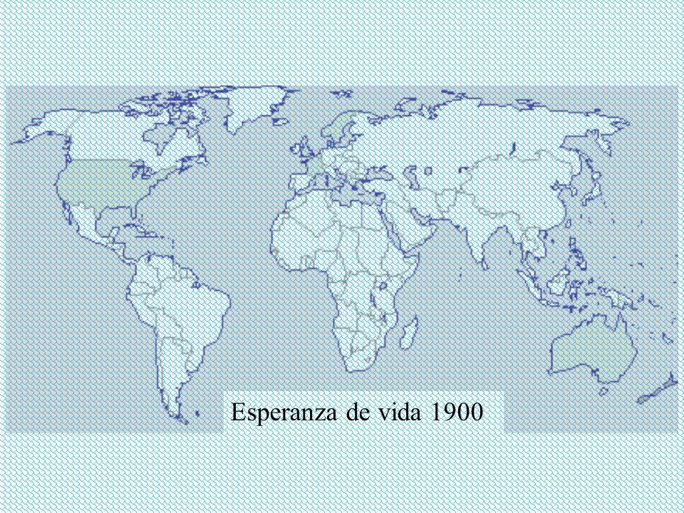 Esperanza de vida 1900