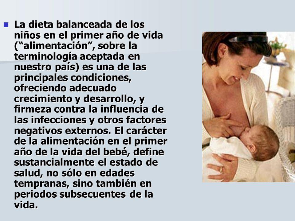No hay duda, que la leche materna humana es la nutrición óptima para el bebé, en el primer año de la vida, Su estructura es adecuada al metabolismo del bebé, en estadios tempranos del desarrollo.