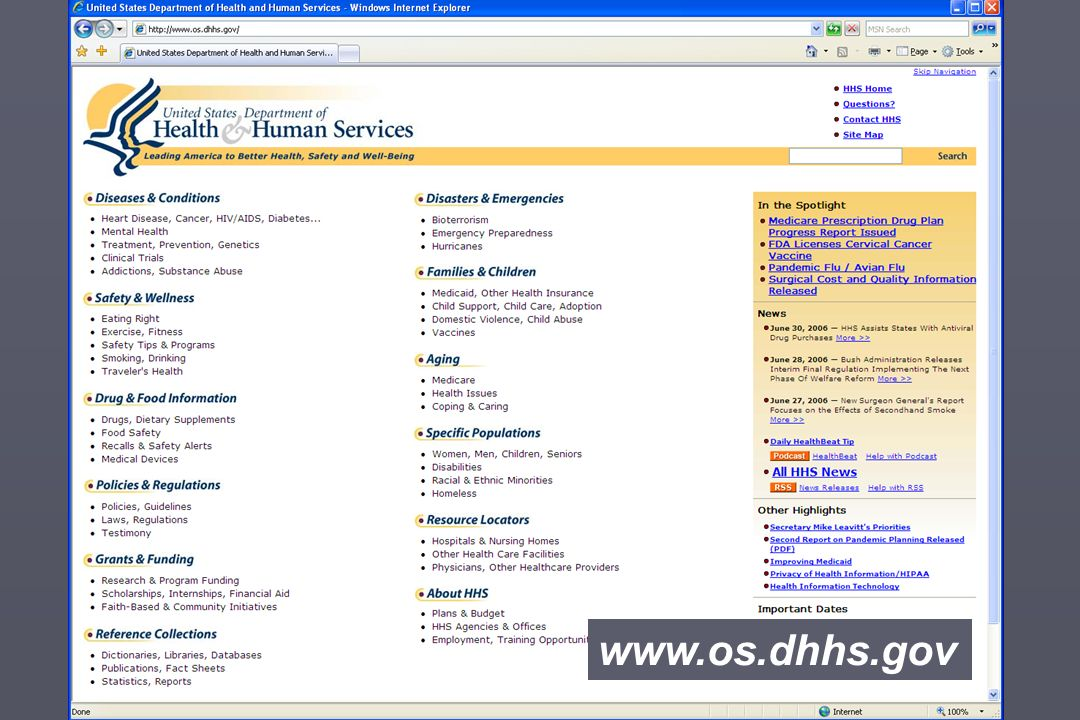 www.os.dhhs.gov